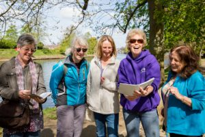Book club ideas: York Bike Belles are a walking book group
