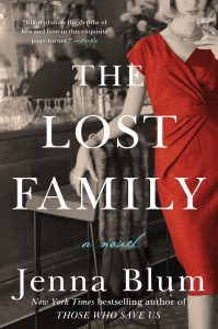 One of our recommended books for 2019 is The Lost Family by Jenna Blum