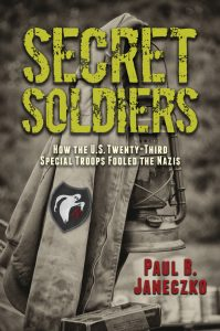 One of our recommended books for 2019 is Secret Soldiers by Paul B. Janeczko