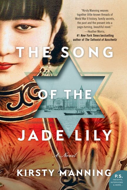 One of our recommended books is The Song of the Jade Lily by Kirsty Manning.