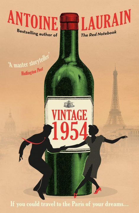 One of our recommended books for 2019 is Vintage 1954 by Antoine Laurain.