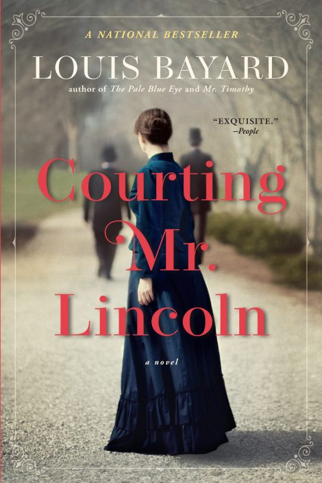 One of our recommended books for 2020 is Courting Mr. Lincoln by Louis Bayard