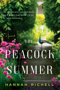 One of our recommended books for 2019 is Peacock Summer by Hannah Richell
