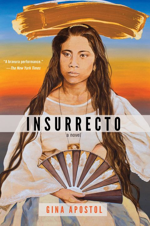 One of our recommended books for 2019 is Insurrecto by Gina Apostel