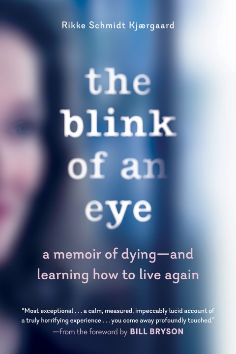 One of our recommended books for 2019 is The Blink of an Eye by Rikke Schmidt Kjærgaard