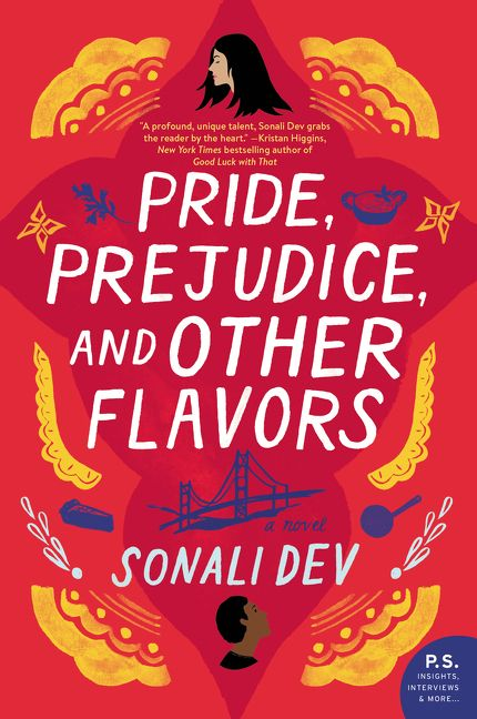 One of our recommended books for 2019 is Pride, Prejudice, and other Flavors by Sonali Dev