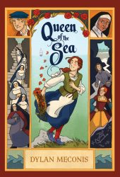 One of our recommended books for 2019 is Queen of the Sea by Dylan Meconis