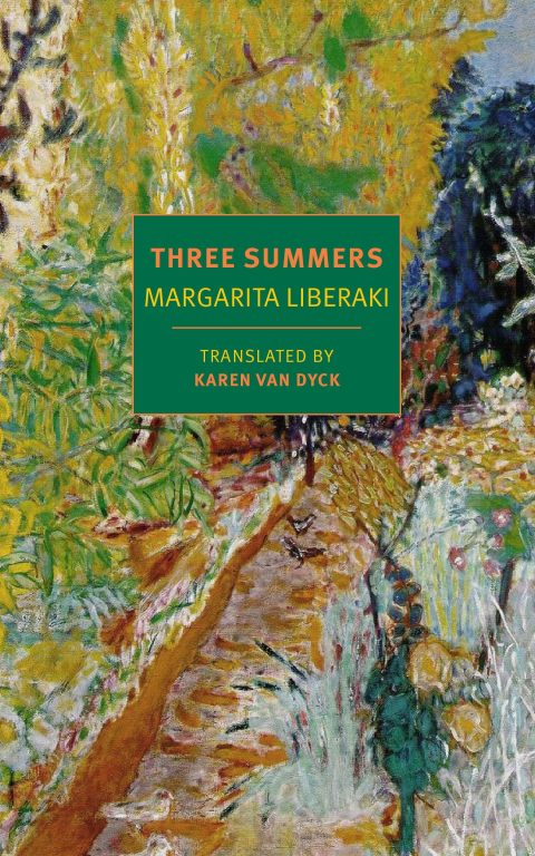 One of our recommended books for 2019 is Three Summers by Margarita Liberaki