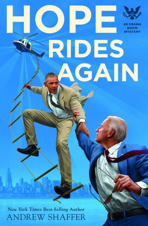 One of our recommended books for 2019 is Hope Rides Again by Andrew Shaffer
