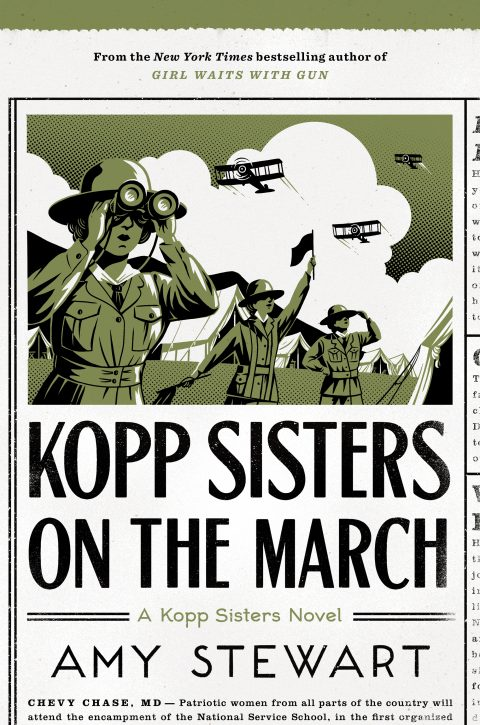 One of our recommended books for 2019 is Kopp Sisters on the March by Amy Stewart