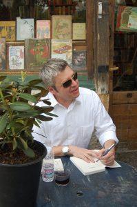Paul Harding is the author of Tinkers, credit Lauren Goldenberg