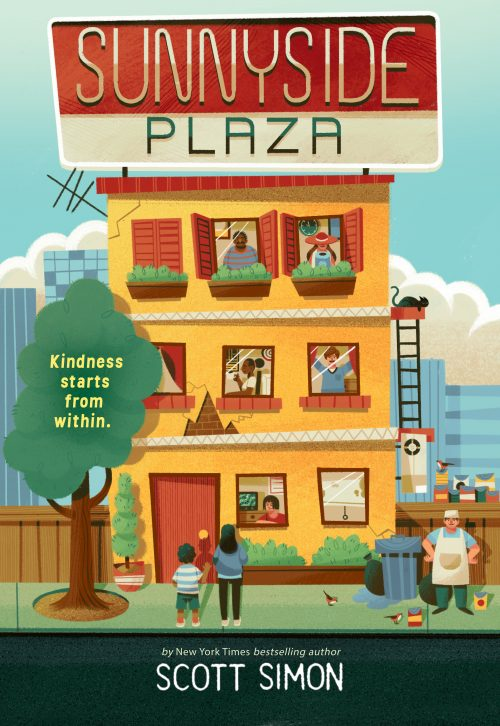 One of our recommended books for 2020 is Sunnyside Plaza by Scott Simon