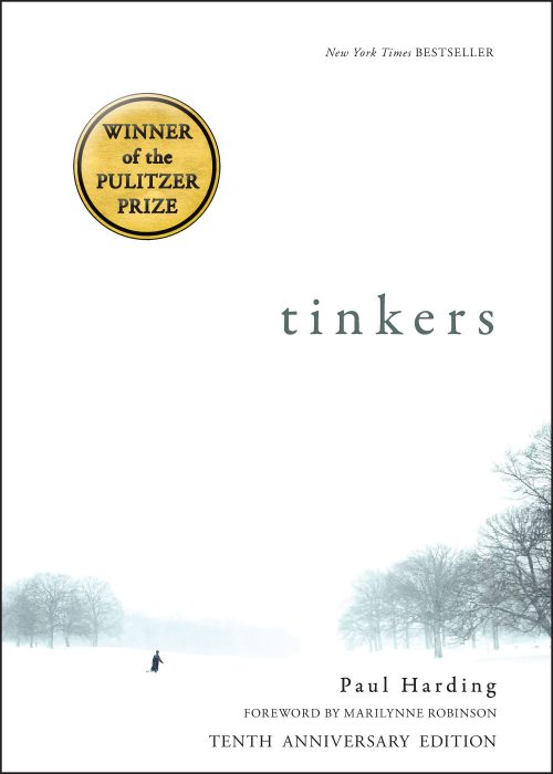 One of our recommended books for 2019 is Tinkers by Paul Harding