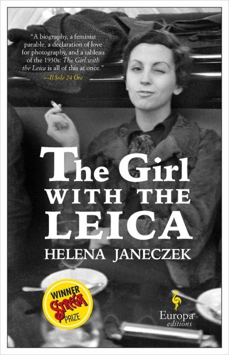 One of our recommended books for 2019 is The Girl with the Leica by Helena Janeczek
