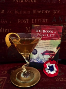 Cocktails are part of the book menus inspired by Ribbons of Scarlet