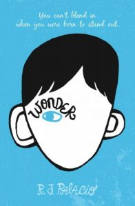 One of our recommended books is Wonder by RJ Palacio