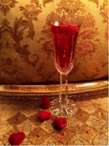 Wine is part of the drink recipes inspired by Ribbons of Scarlet