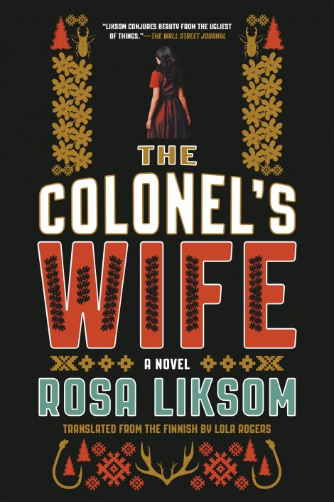 One of our recommended books for 2019 is The Colonel's Wife by Rosa Liksom