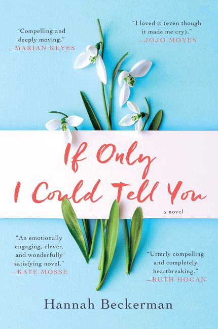 One of our recommended books for 2019 is If Only I Could Tell You by Hannah Beckerman