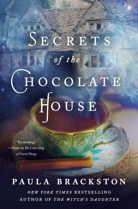 One of our recommended books for 2019 is Secrets of the Chocolate House by Paula Brackston