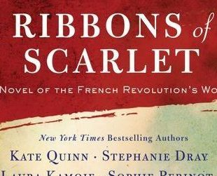 Reading Group Choices offers drink recipes based on the novel Ribbons of Scarlet and the French Revolution