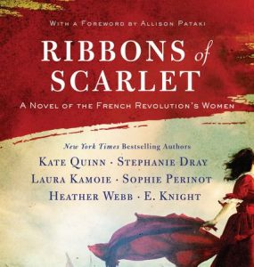 One of our recommended books for 2019 is Ribbons of Scarlet by Kate Quinn