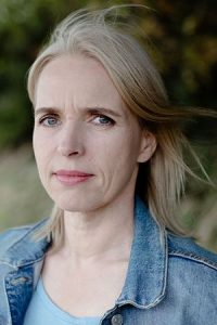 Annette Hess is the author of The German House, Photo by Silvia Medina