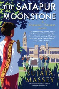 One of our recommended books is The Satapur Moonstone by Sujata Massey