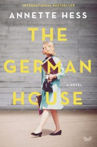 One of our recommended books for 2019 is The German House by Annette Hess