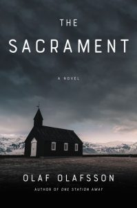 One of our recommended books for 2019 is The Sacrament by Olaf Olafsson