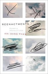 One of our recommended books is Reenactments by Hai-Dang Phan
