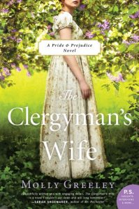 One of our recommended books is The Clergyman's Wife by Molly Greeley