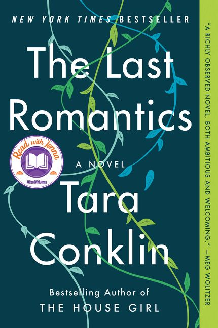 One of our recommended books for 2020 is The Last Romantics by Tara Conklin