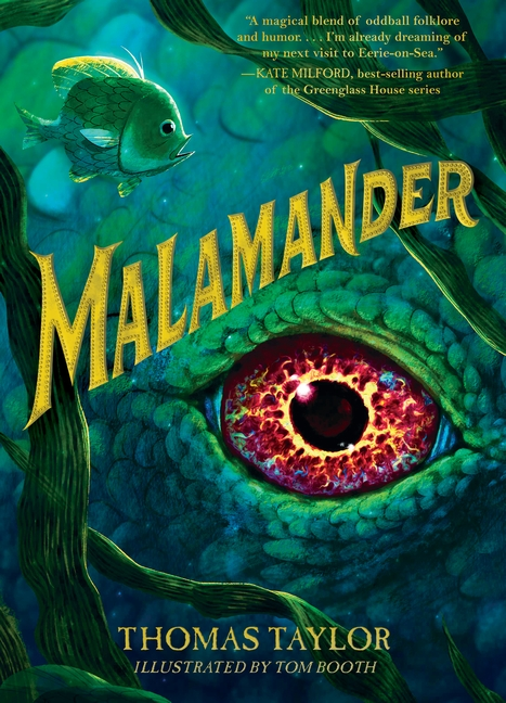 One of our recommended books is Malamander by Thomas Taylor