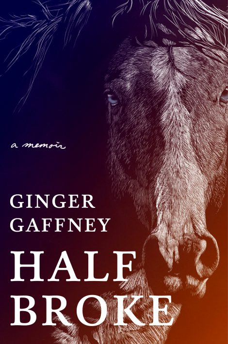 One of our recommended books for 2020 is Half Broke by Ginger Gaffney