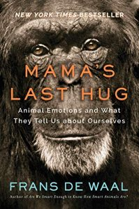 One of our recommended books for 2020 is Mama's Last Hug by Frans de Waal