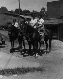 Packhorse Librarians, credit WPA Library