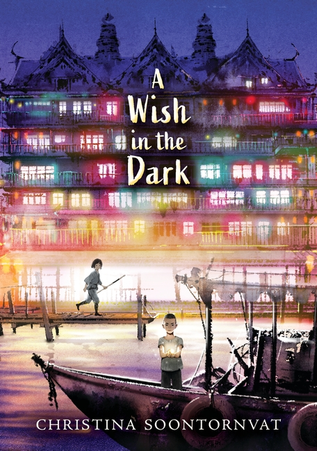 One of our recommended books is A Wish in the Dark by Christina Soontornvat