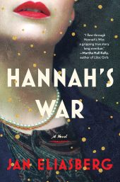 One of our recommended books for 2020 is Hannah's War by Jan Eliasberg