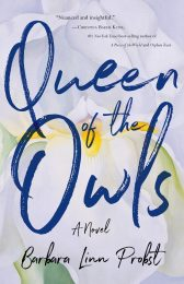 One of our recommended books for 2020 is Queen of the Owls by Barbara Probst