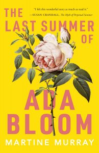 One of our recommended books for 2020 is The Last Summer of Ada Bloom