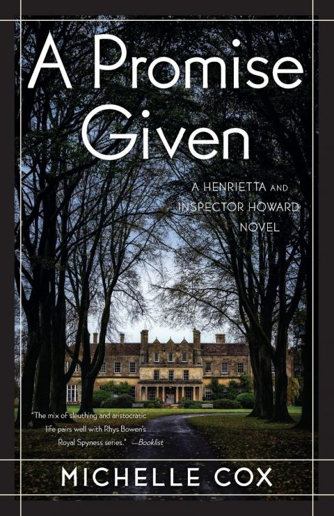 One of our recommended books is A Promise Given by Michelle Cox