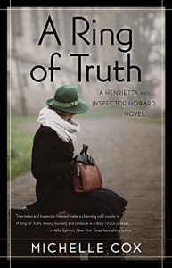 One of our recommended books is A Ring of Truth by Michelle Cox