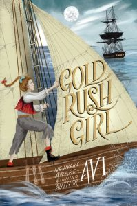 One of our recommended books for 2020 is Gold Rush Girl by Avi