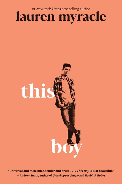 One of our recommended books for 2020 is This Boy by Lauren Myracle