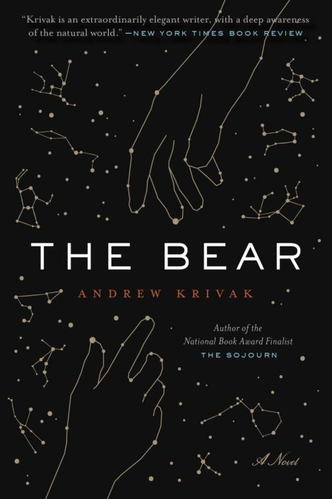One of our recommended books is The Bear by Andrew Krivak