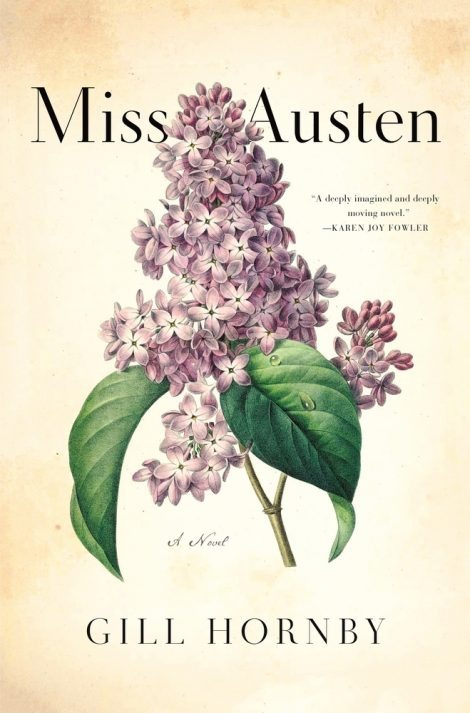 One of our recommended books for 2020 is Miss Austen by Gill Hornby