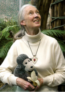 Jane Goodall is the author of Reason for Hope