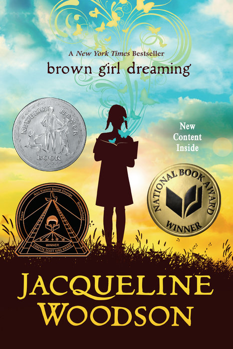 One of our recommended books is Brown Girl Dreaming by Jacqueline Woodson