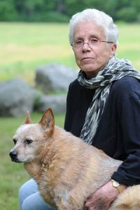 Elizabeth Marshall Thomas is the author of Growing Old, photo Saibhung Singh Khalsa